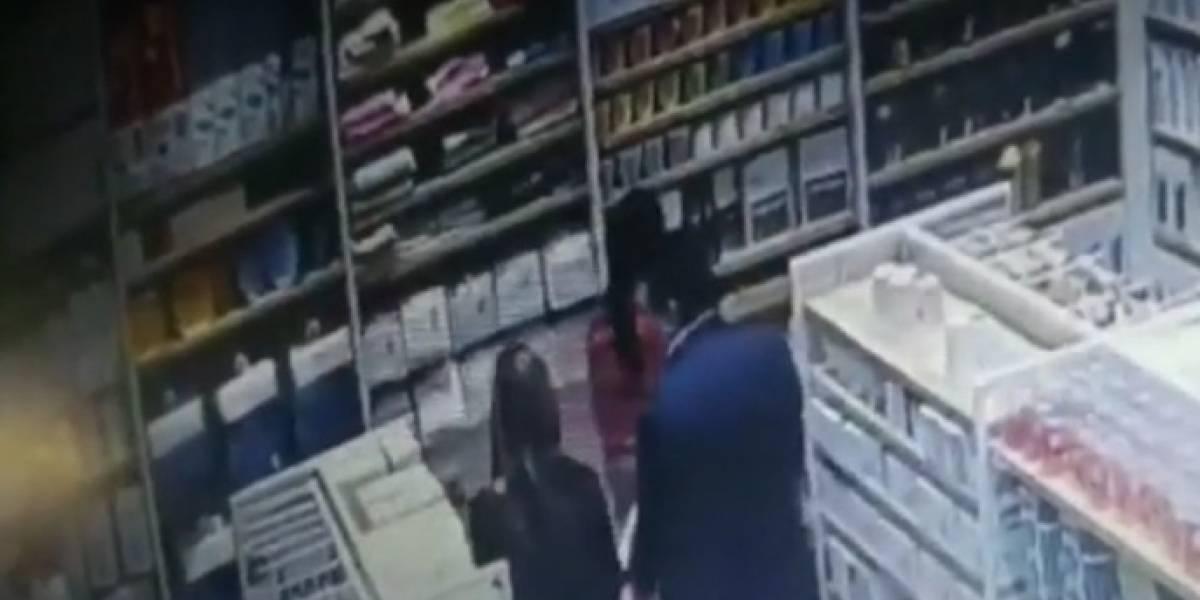La pareja que roba celulares en centros comerciales de Bogotá