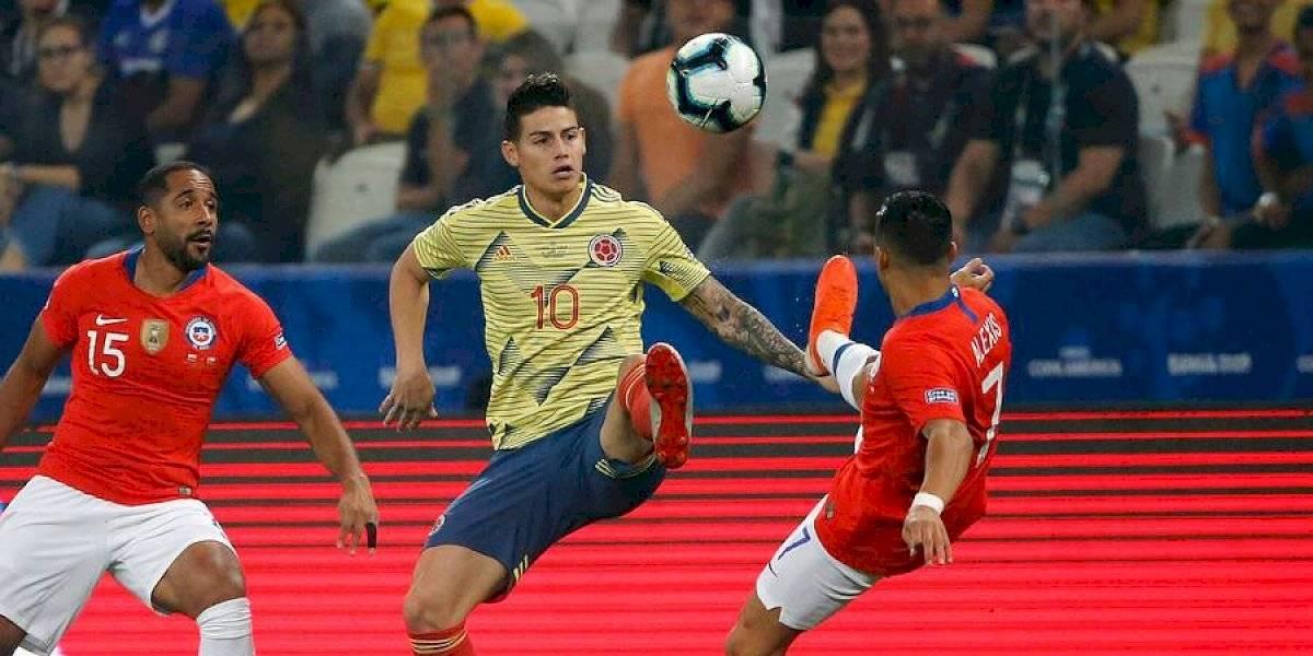 James Rodríguez lidera la nómina de Colombia para enfrentar a Chile por las Eliminatorias