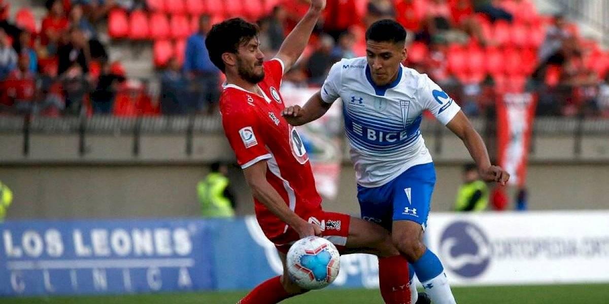 Holan pierde a Fuenzalida y apuesta por Núñez para el debut en casa de la UC en la Libertadores