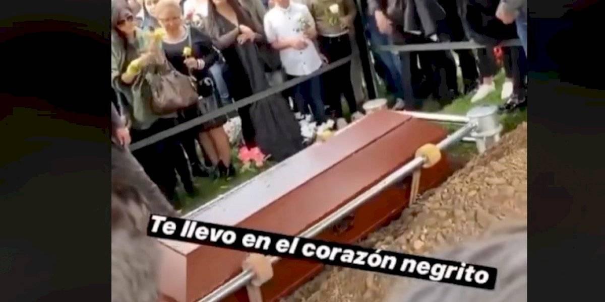 "Emotivo último adiós a participante de ""Guerreros"""