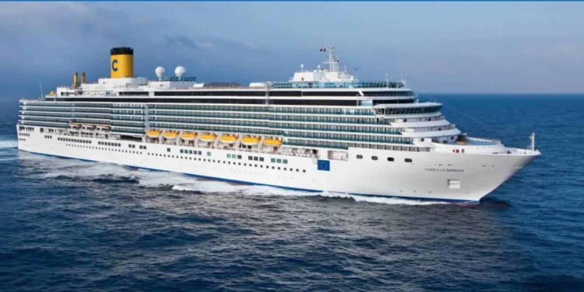 No reportan más casos sospechosos en crucero Costa Luminosa