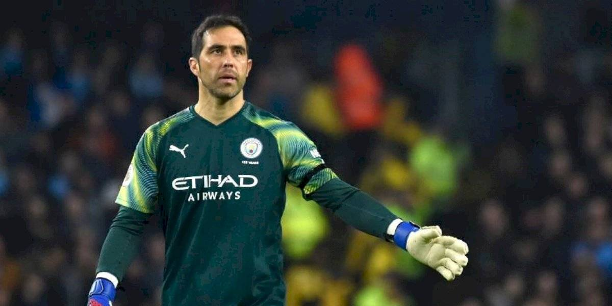 ¿Destino Estados Unidos?: Claudio Bravo tendría sus días contados en el Manchester City