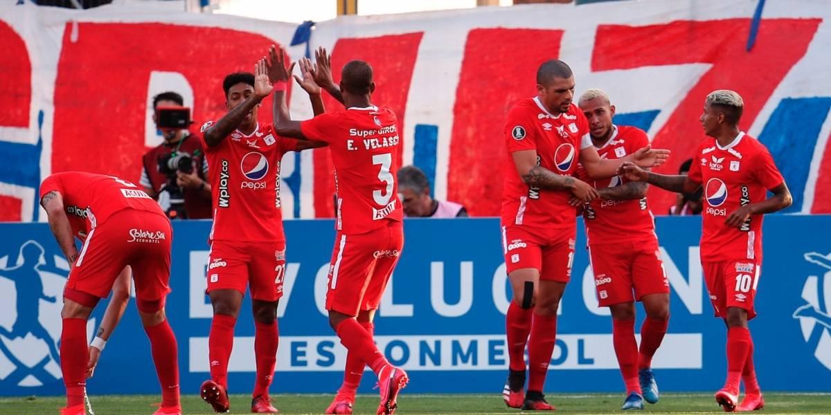 ¡El diablo salió del infierno en Chile! América ganó y recuperó el terreno perdido en Libertadores