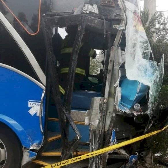 Ocho heridos por accidente de tránsito en la avenida Moraspungo