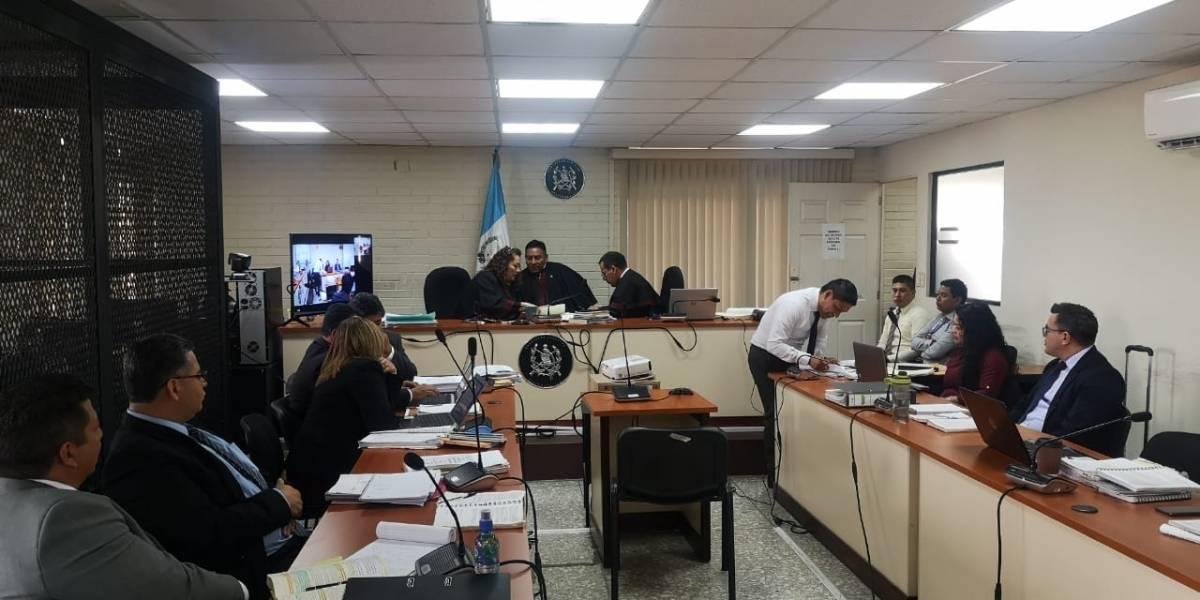 Escuchan a colaborador eficaz en juicio por corrupción en comuna de Chinautla