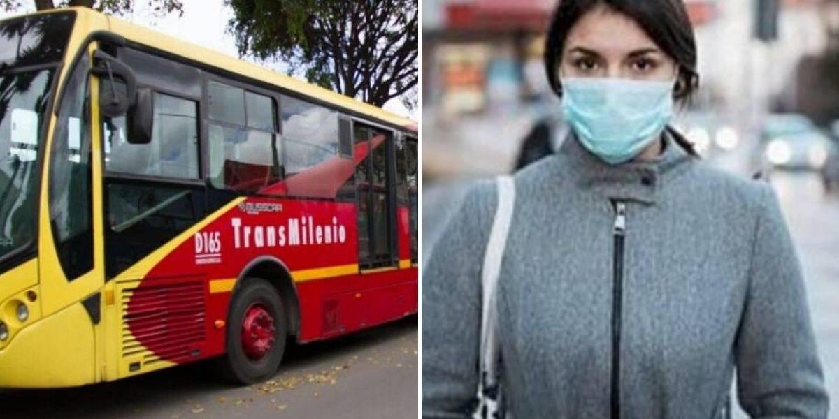 Fuerte pelea se vivió en TransMilenio por mujer que no usaba tapabocas
