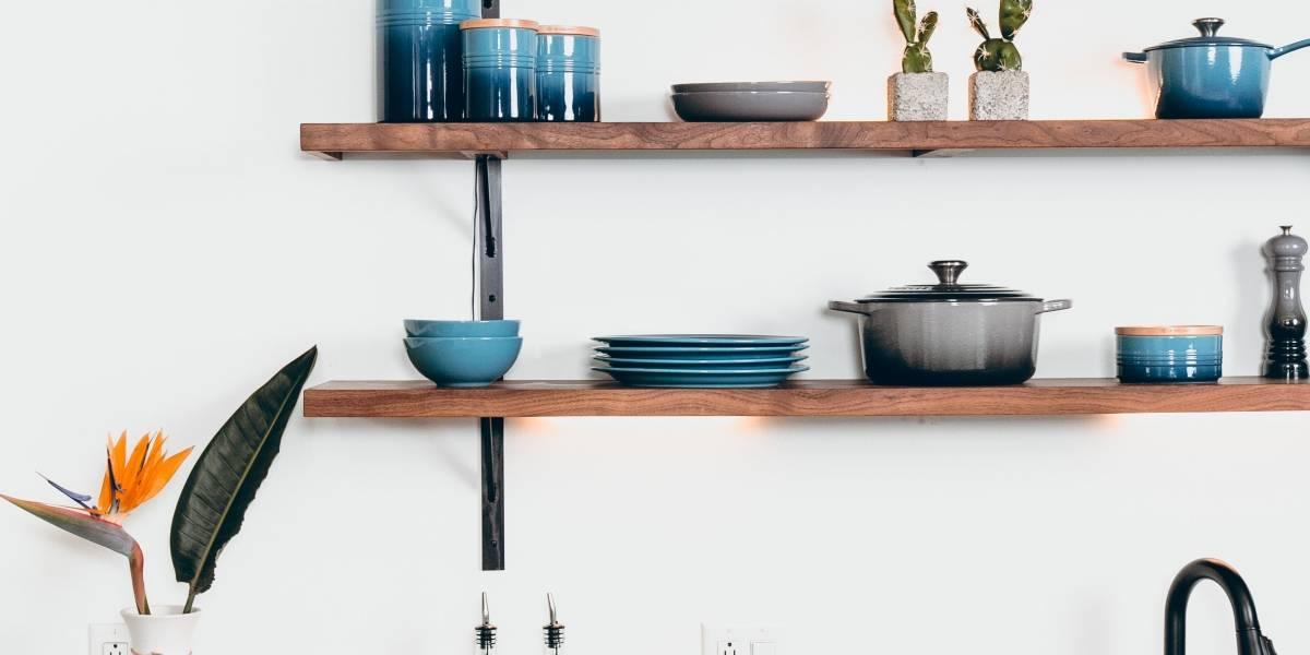 Ideias inteligentes para decorar uma cozinha pequena