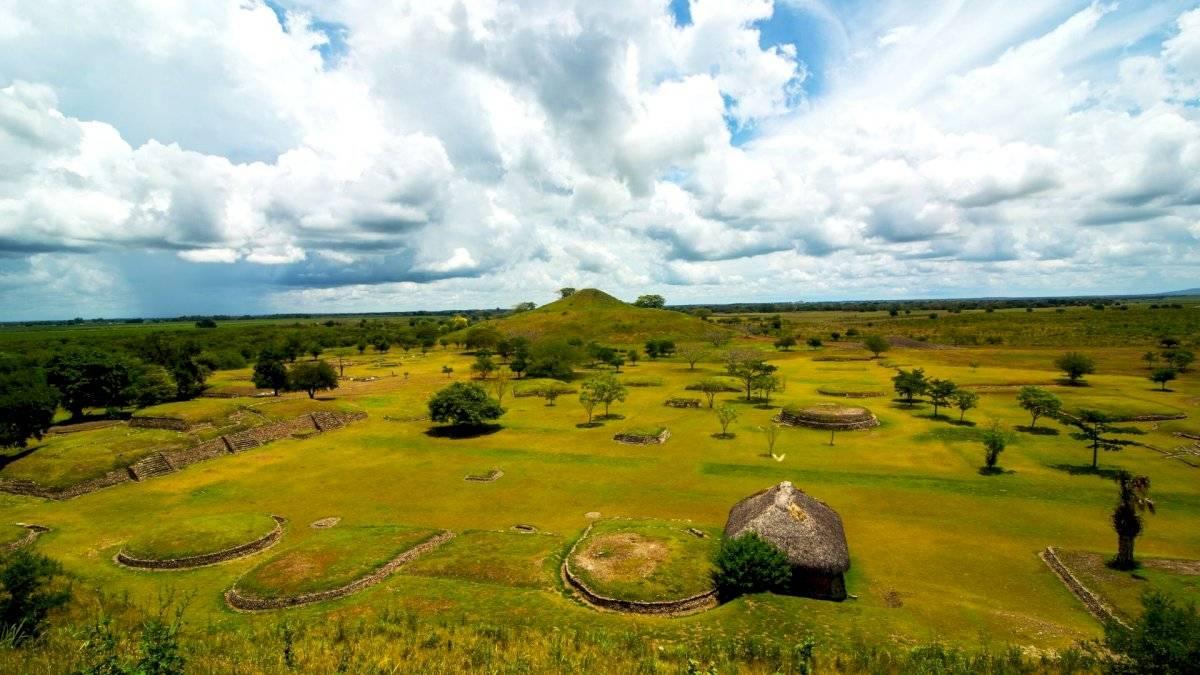 Sitio arqueológico de Tamtoc, San Luis Potosí