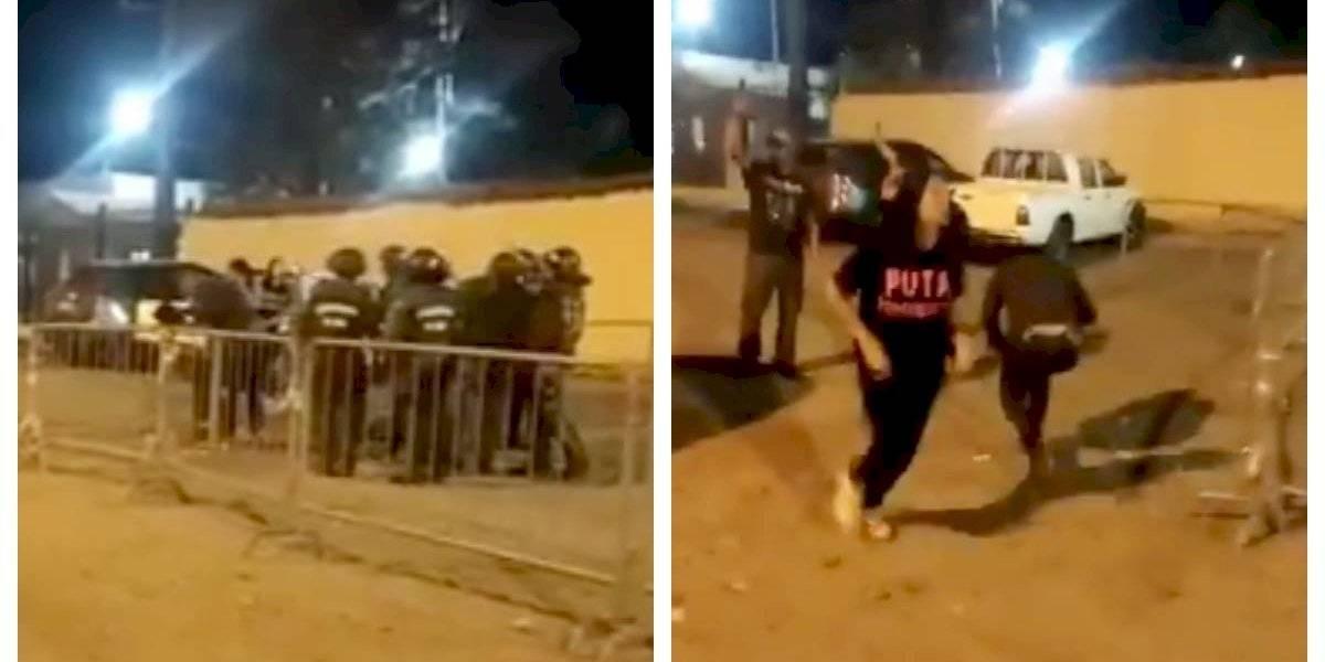 ¿Cuándo detiene esto? Diputado Ascencio emplaza a ministro Blumel luego de que carabineros atacara con gas pimienta a abogados de DDHH