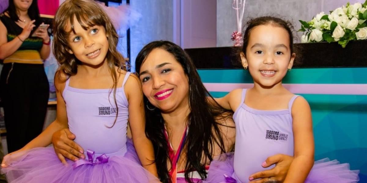Isadora Bruno inaugura escuela de danza