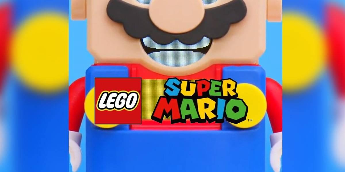¡Sorpresa!: LEGO Super Mario se revela y nadie sabe qué es