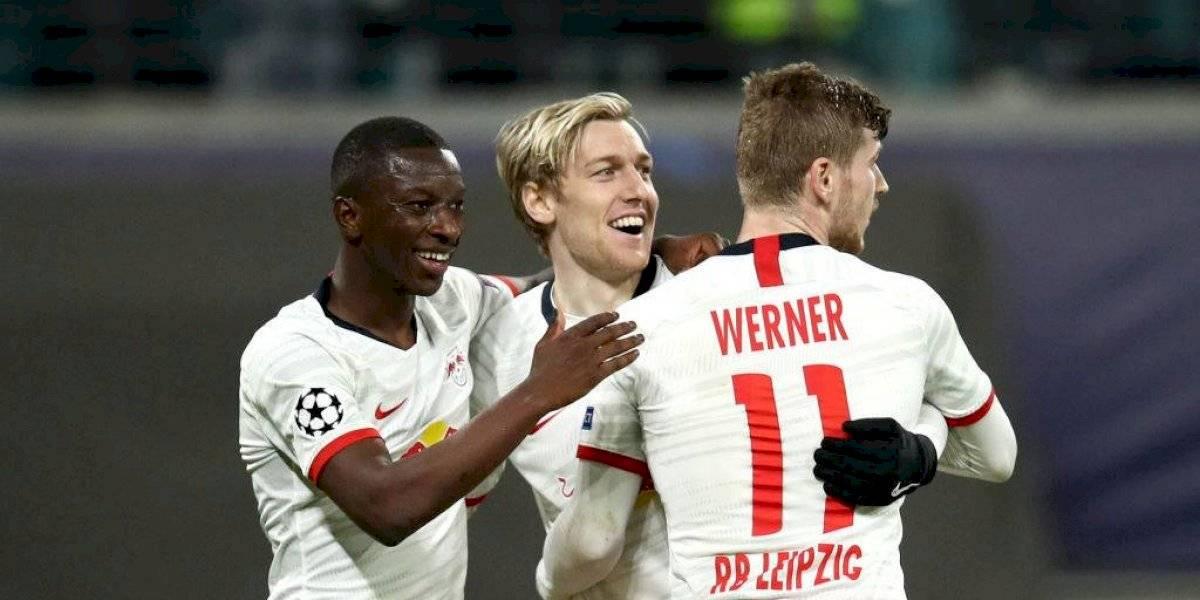 ¡Los toros indomables! Leipzig pasó por encima del Tottenham y avanzó (3-0)