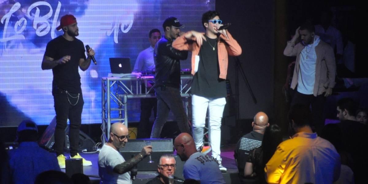 Lo Blanquito, Darell y Mark B inauguraron Blue Live Club en Hard Rock Live SD