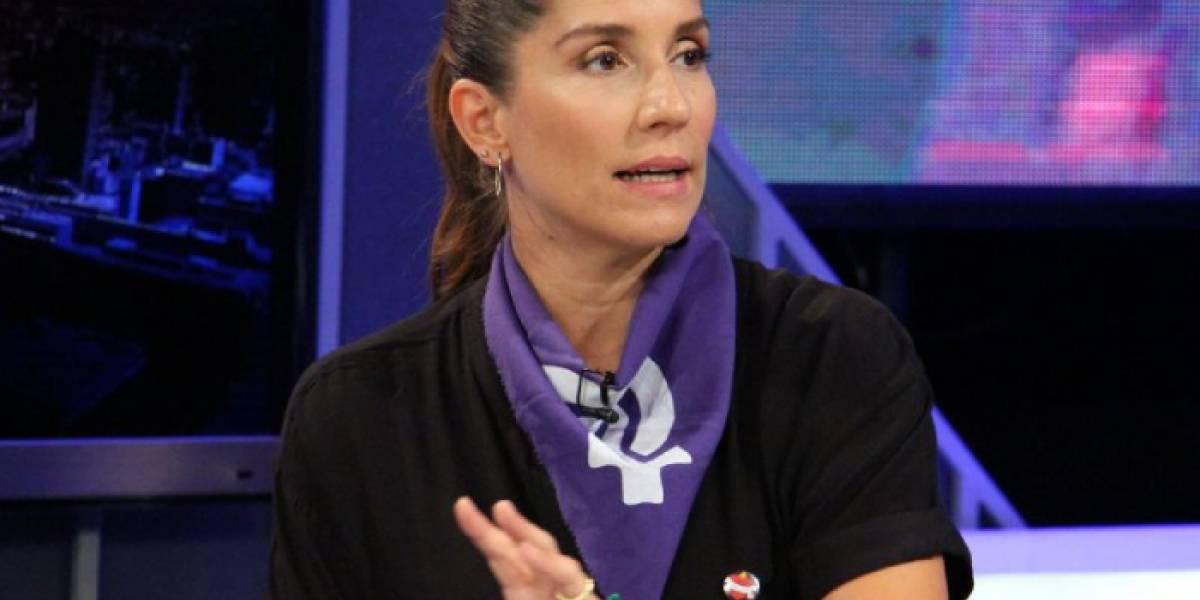 """Mariana Loyola encara a ministra Plá: """"Su silencio ha sido cómplice y eso es grave"""""""