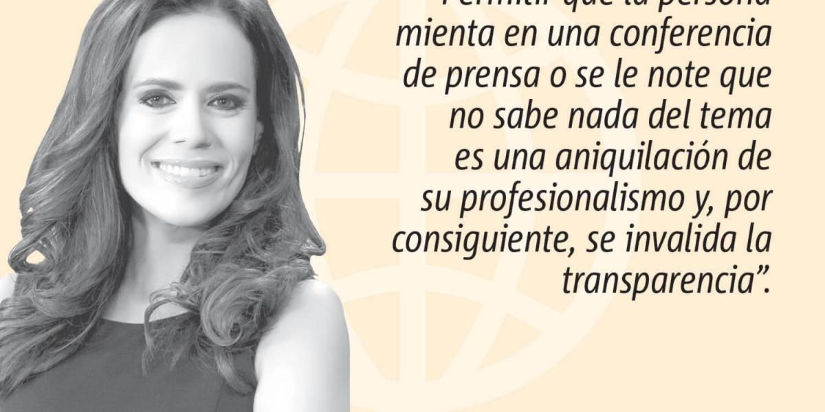 """Opinión de Mariliana Torres: """"Conferencias de prensa"""""""