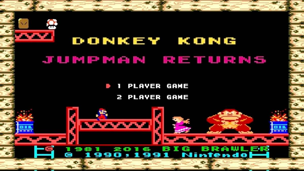 Donkey Kong Jumpman Returns