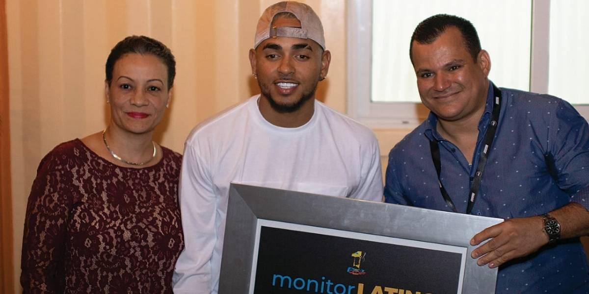 MDL Entertaiment y Monitor Latino reconocimieron a Ozuna