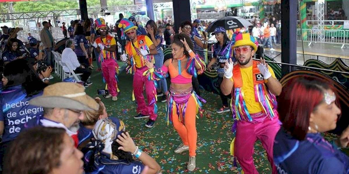 Altice tuvo presencia en el Carnaval Vegano