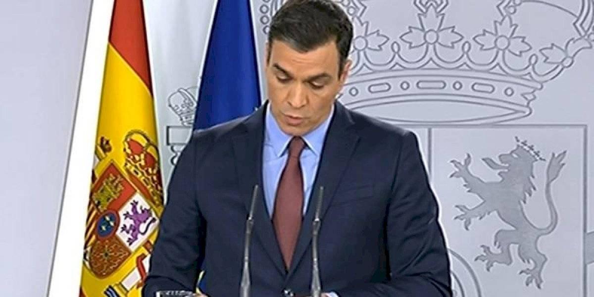 """Presidente del Gobierno de España lanza un mensaje de tranquilidad. """"Juntos superaremos el coronavirus"""""""