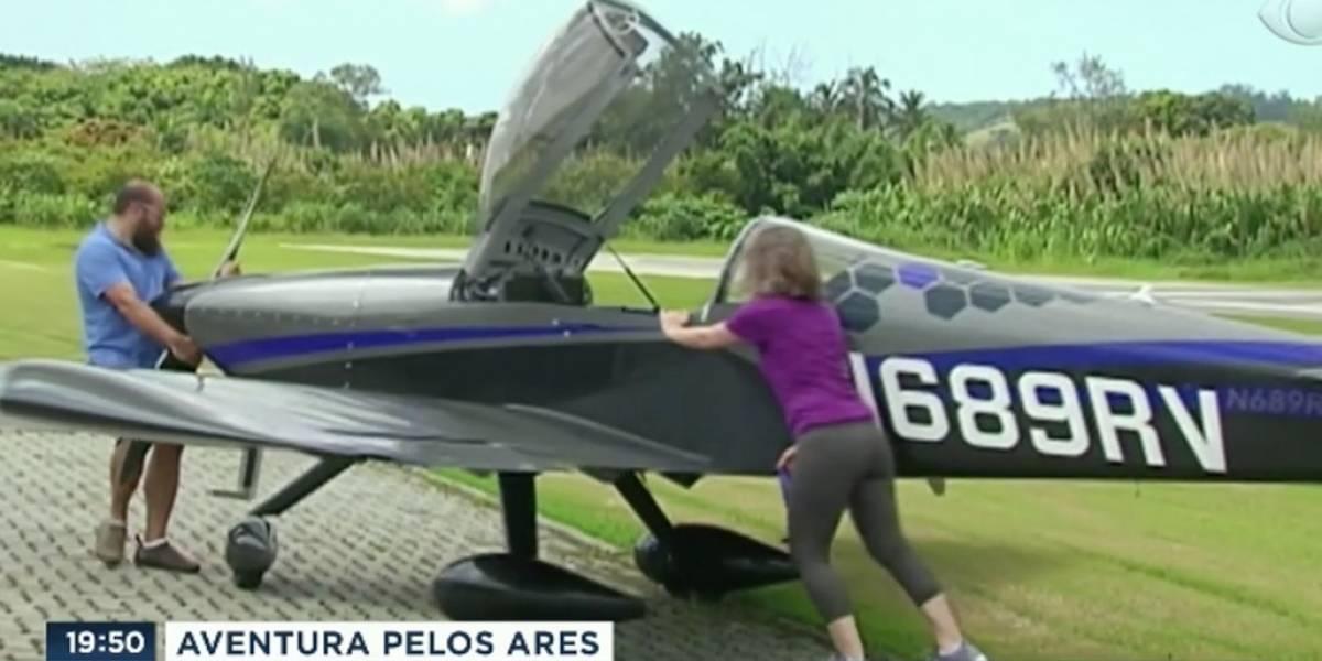Brasileiro e esposa constroem avião e viajam 9 mil quilômetros