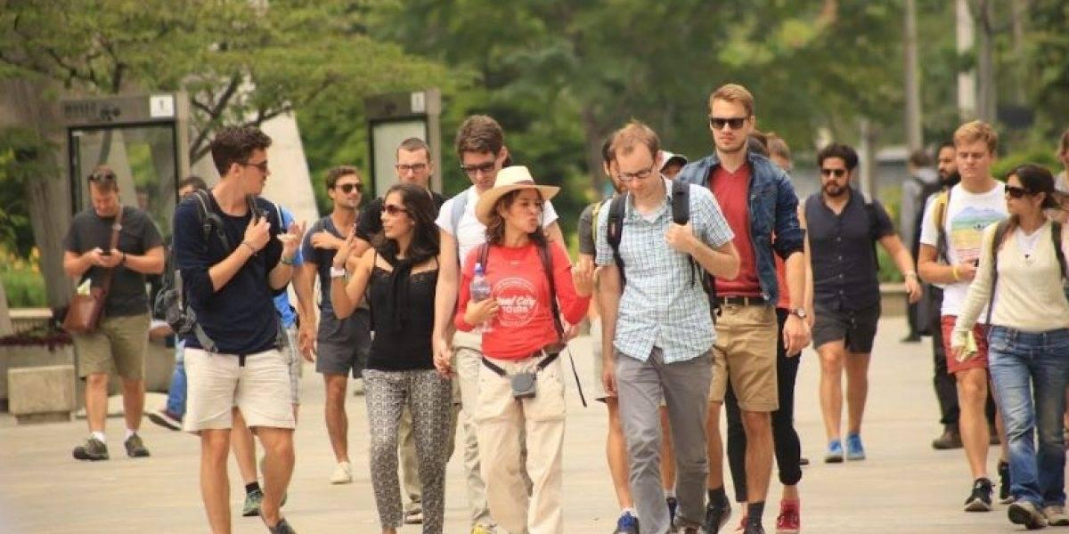 El recorrido turístico que hicieron 170 europeos, con protocolos establecidos en Bogotá
