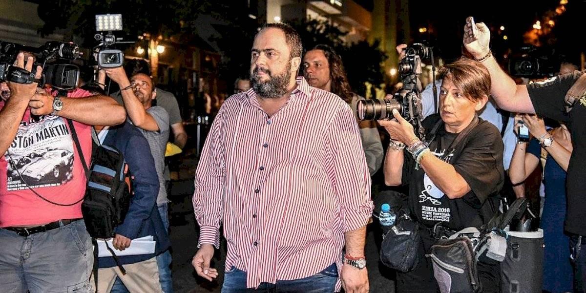 Presidente del Olympiacos, contagiado de coronavirus