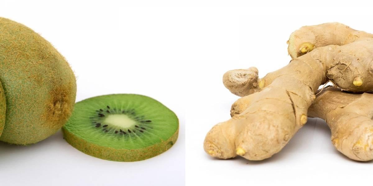 Emagrecer com suco de kiwi e gengibre