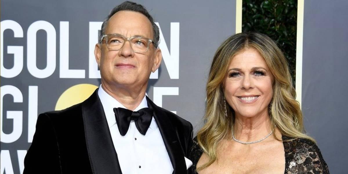 Tom Hanks y su esposa Rita Wilson dieron positivo para coronavirus