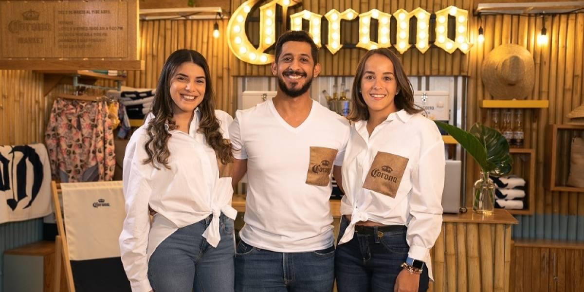 #TeVimosEn: Inauguran primer Corona Market, una tienda eco-amigable de temporada