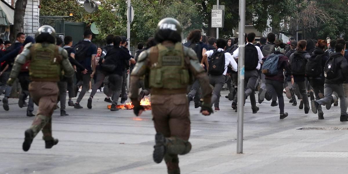 Nuevos incidentes en Chile contra Piñera