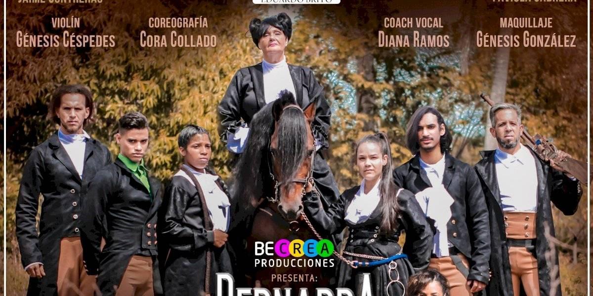 """Obra de teatro """"Bernarda Alba: A Contragalope"""", será presentada del 20 al 22 de este mes"""