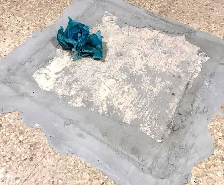 La cisterna donde estaba oculto el cadáver de la mujer fue sellada con cemento