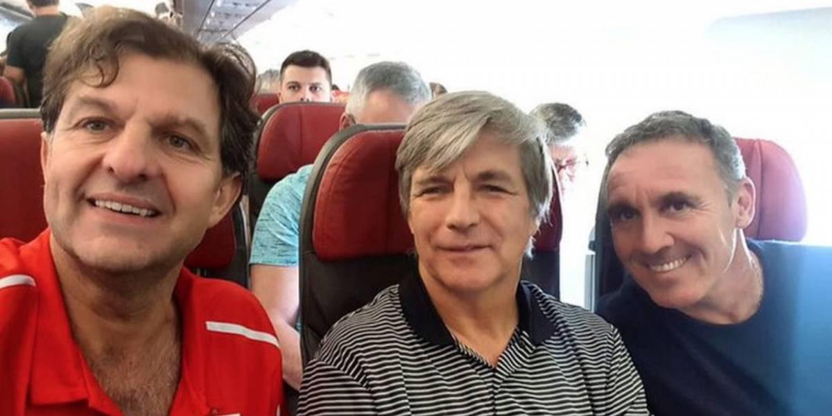"""El mea culpa de Mayne-Nicholls en Colo Colo por la búsqueda de Scolari: """"Fue un error la foto en el avión"""""""