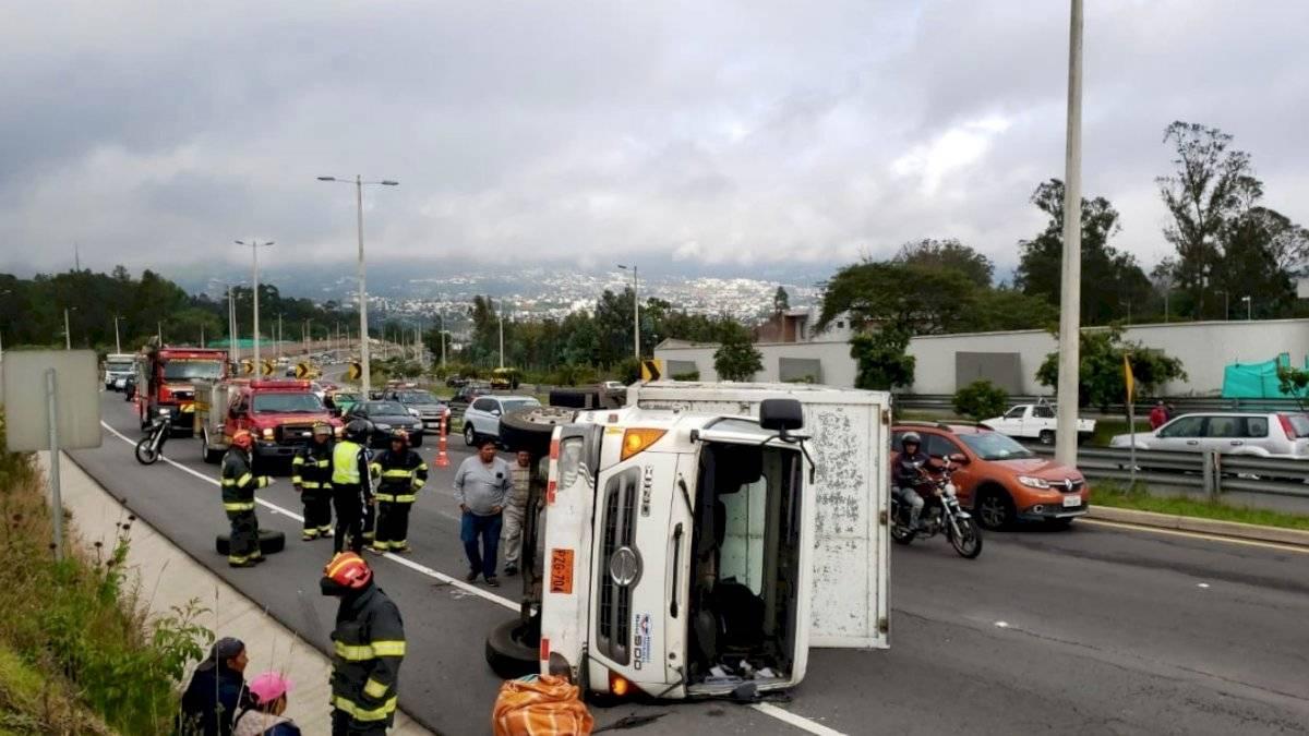 Accidente de tránsito ocurrió en la Ruta Viva