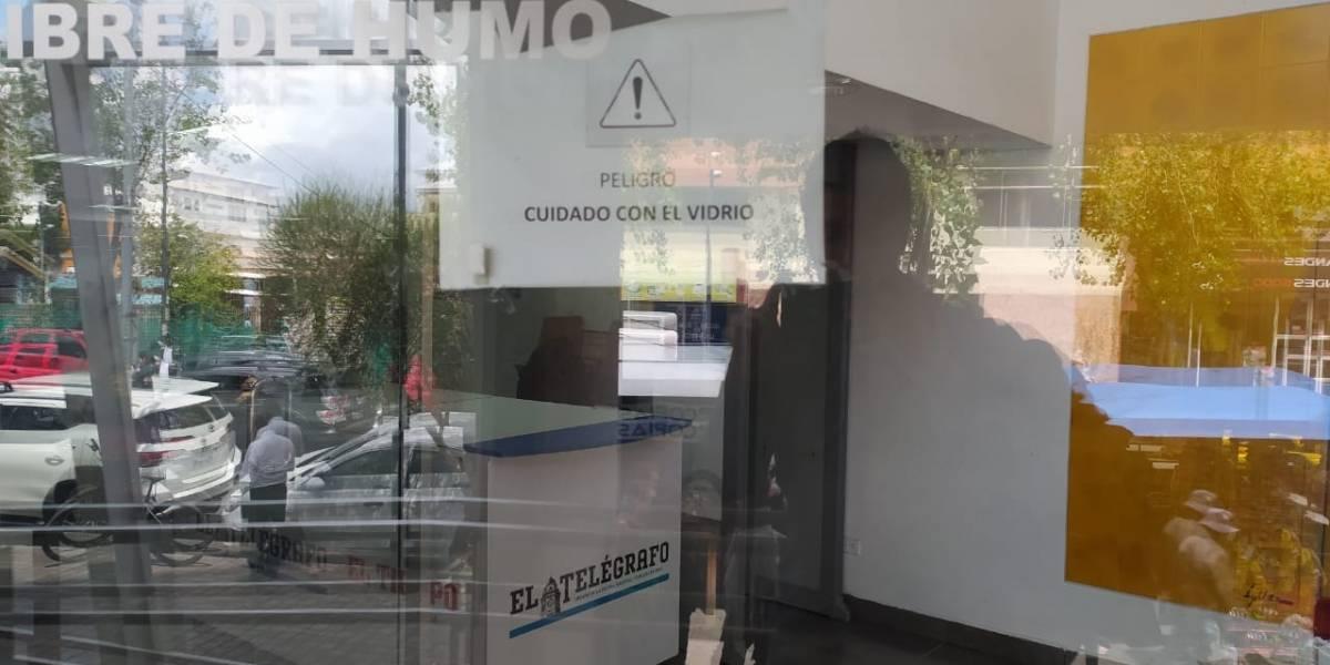 Falsa alarma de coronavirus en Unidad Judicial La Mariscal, en Quito