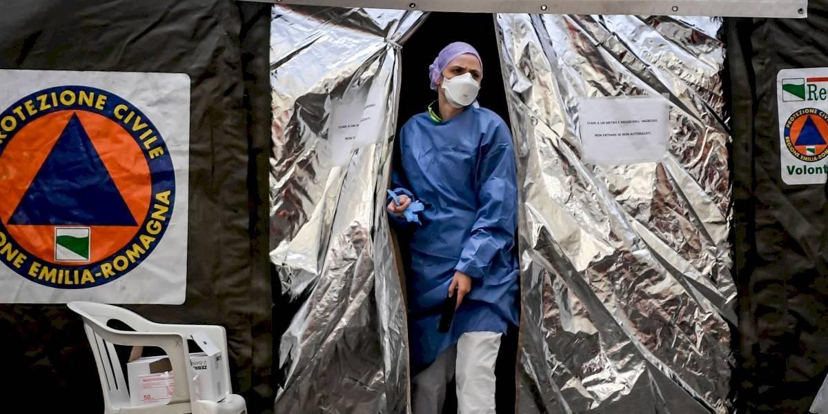 Italia registra 743 fallecidos en las últimas 24 horas y está cerca de los 70 mil casos de coronavirus