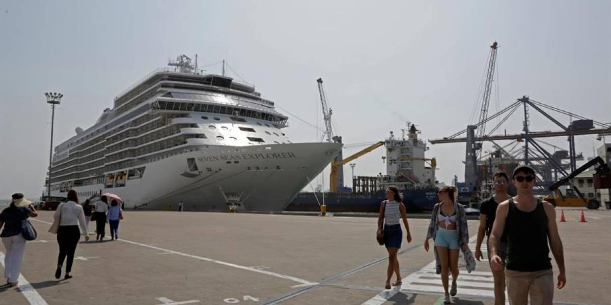 Detectan cinco casos de coronavirus en un crucero que estuvo en Cartagena