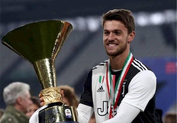 Daniele Rugani de la Juventus tiene coronavirus