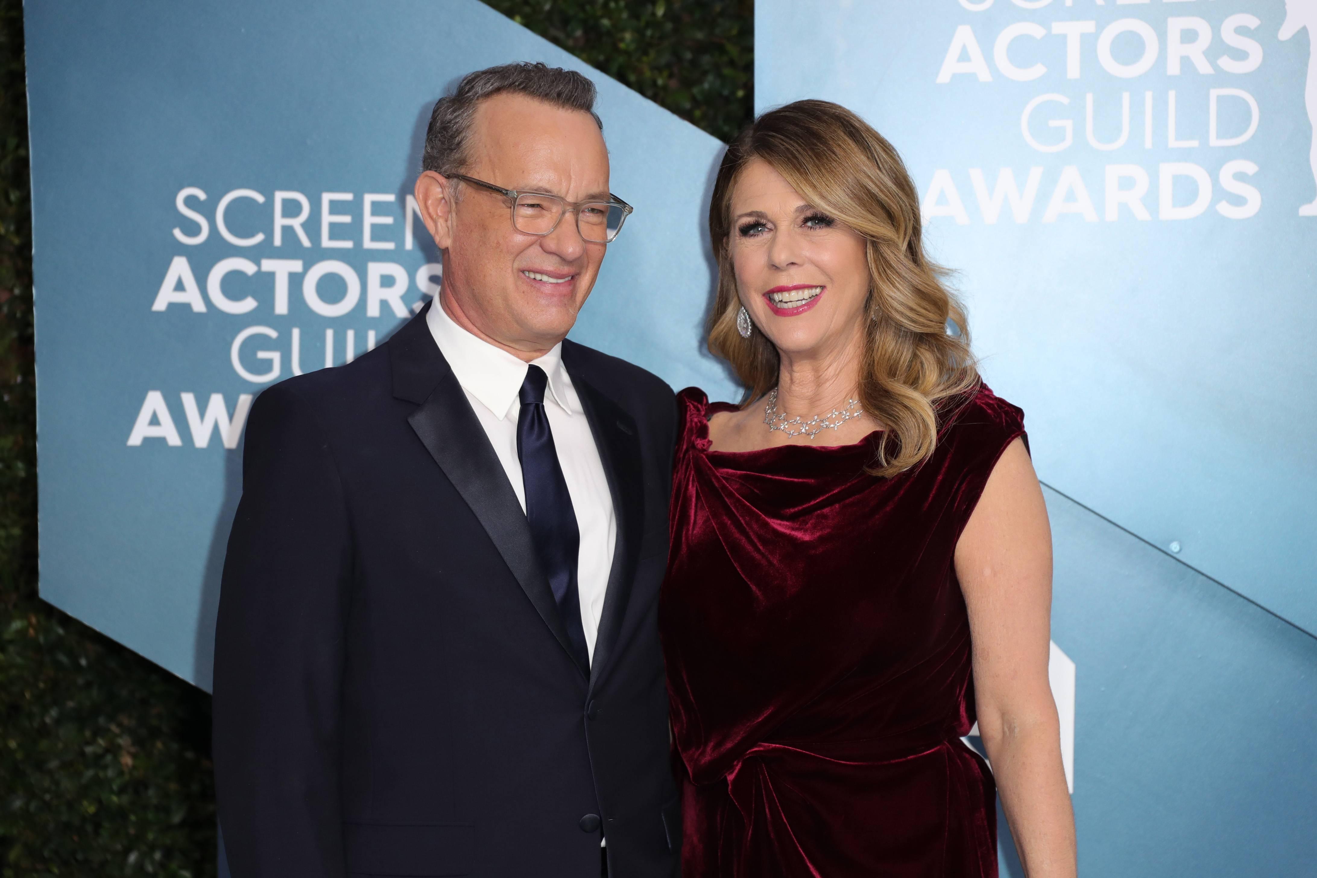 Tom Hanls y Rita Wilson