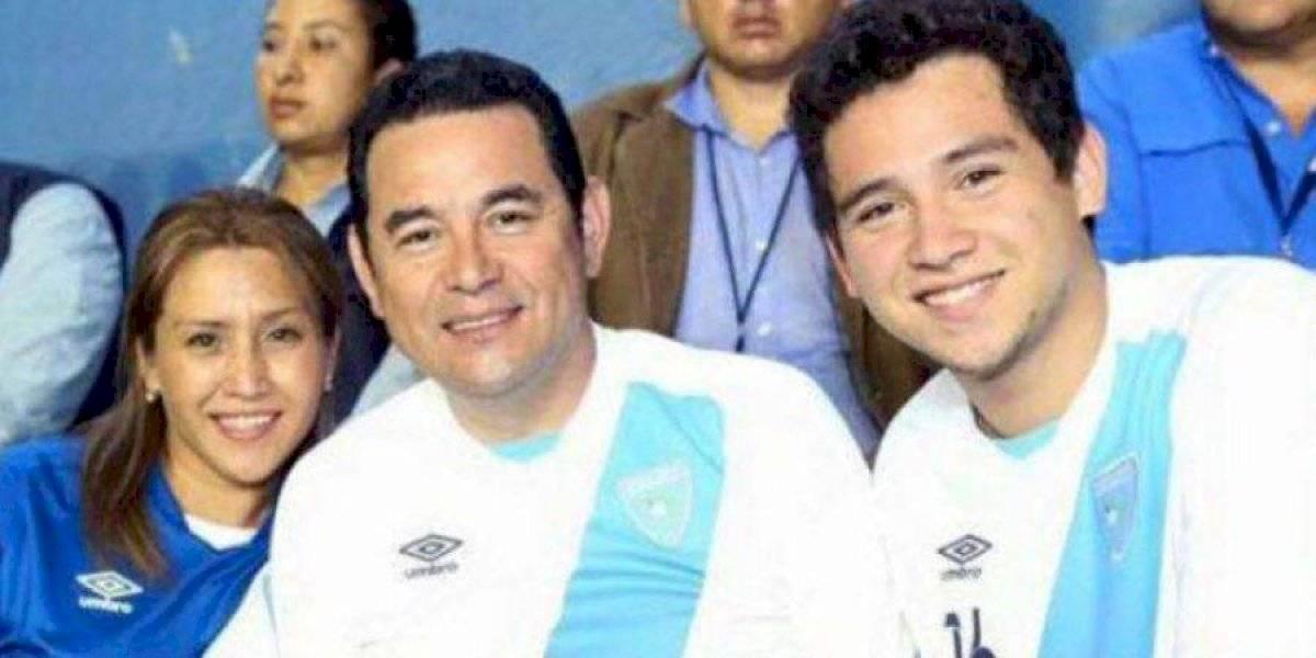 Hijo del expresidente Jimmy Morales se queda sin equipo