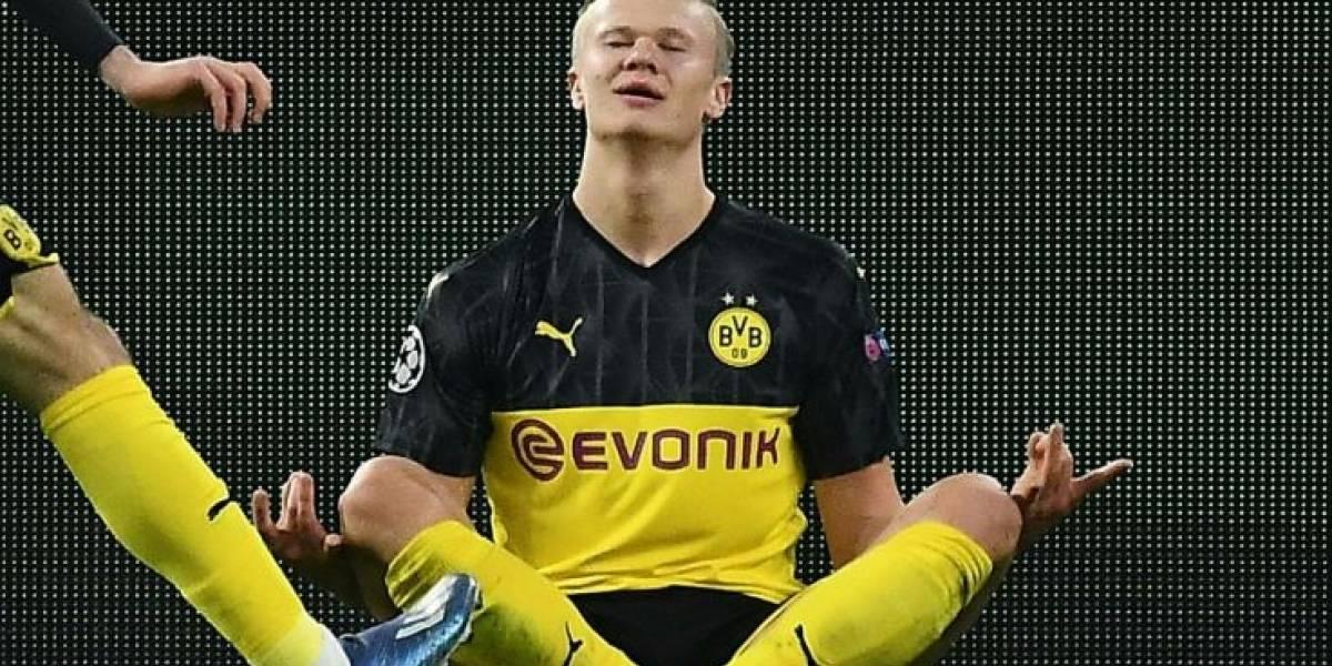 VIDEO. Jugadores del Paris Saint-Germain se burlan de futbolista del Borussia Dortmund