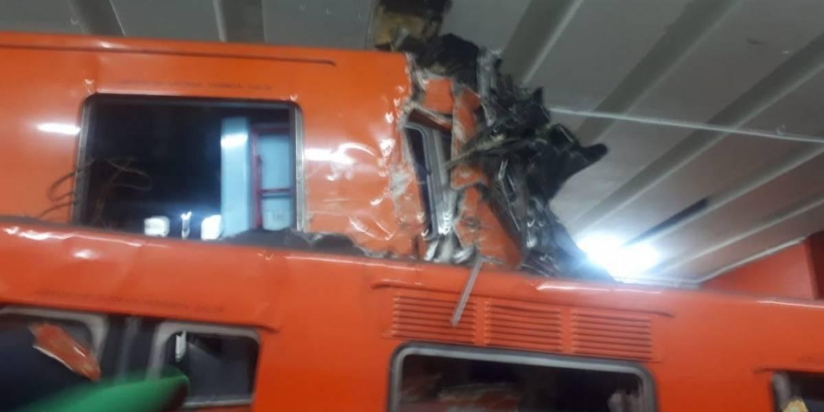 Error humano provocó choque en Metro Tacubaya
