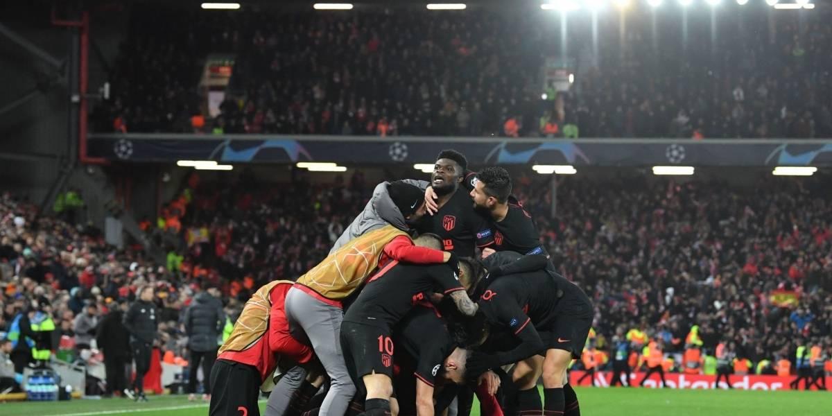 Atlético de Madrid logra clasificación en Anfiel y elimina al campeón de Champions