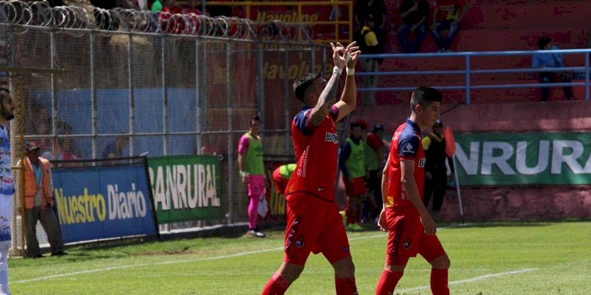 Ramiro Rocca destaca con doblete ante Cobán Imperial