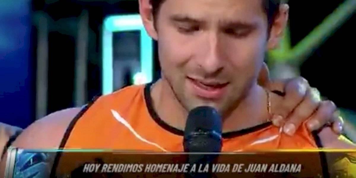 """Conmovedor mensaje de un """"guerrero"""" colombiano a Juan Aldana"""