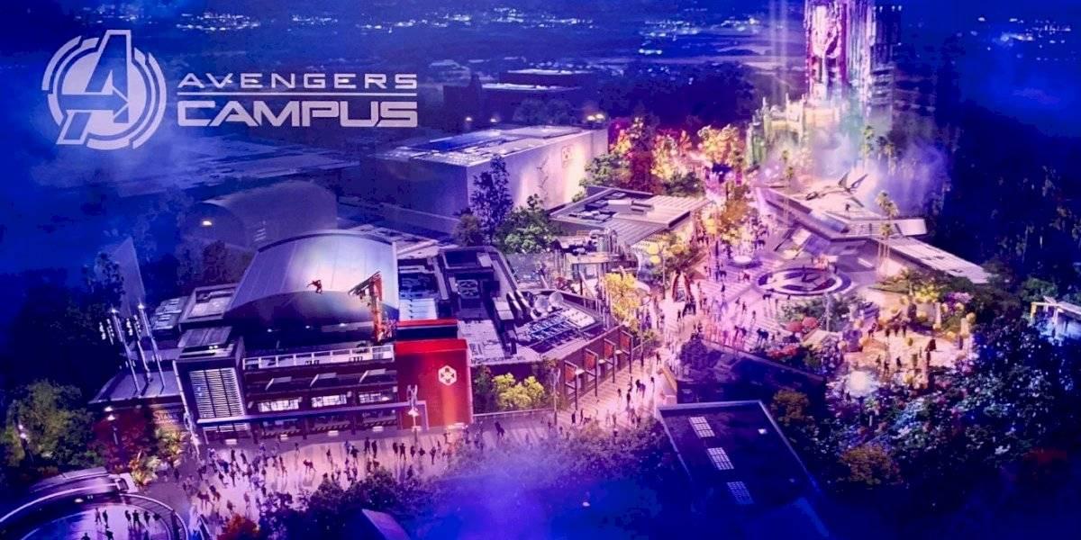 ¡Abre en julio! Nueva área temática para fans superhéroes llega a Disneyland Resort