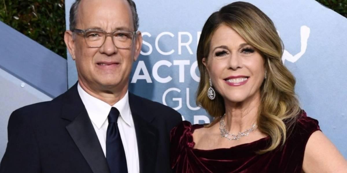 Actor Tom Hanks y su esposa dan positivo a coronavirus