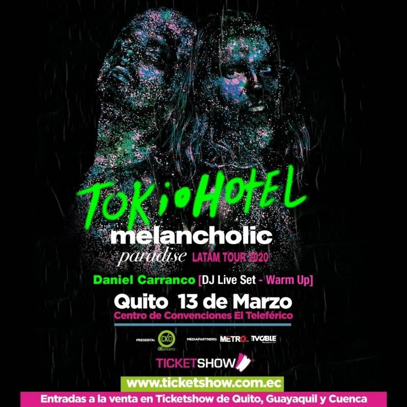 Tokio Hotel en Ecuador