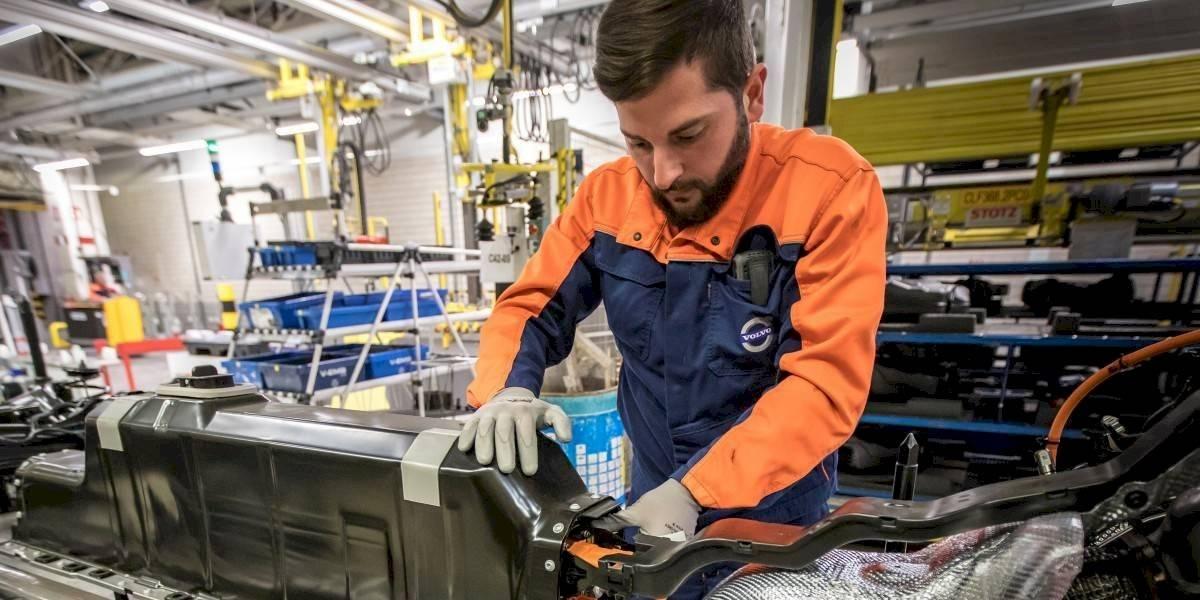 Volvo Cars abre nueva línea de ensamblado de baterías
