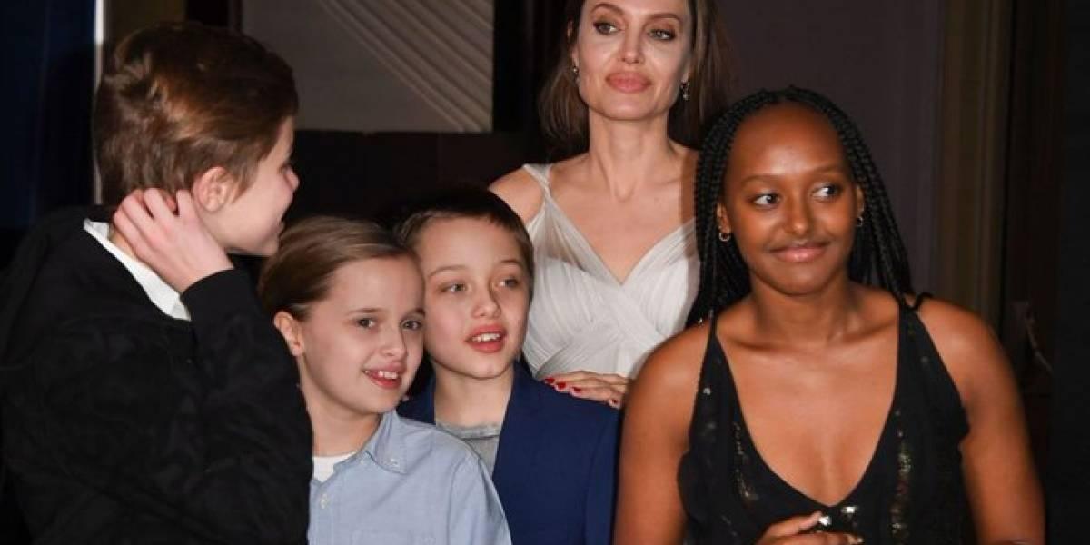 Angelina Jolie revela angustiosa situación familiar: Operaron a dos de sus hijas